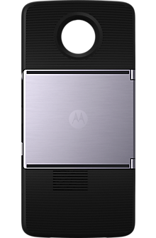 Insta-Share Projector Moto Mod  - Black