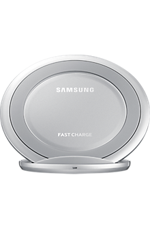 Fast Charge Wireless Charging Stand - Silver
