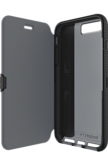 Evo Wallet Case for iPhone 7 Plus - Black