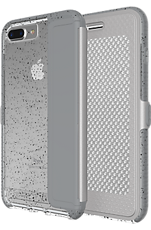 Evo Wallet Active Edition Case for iPhone 7 Plus - Reflective Grey