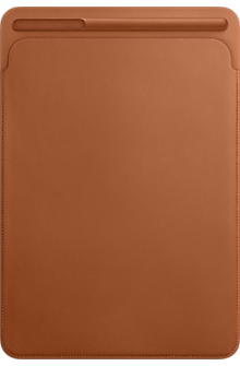 Leather Sleeve for 10.5-inch iPad Pro - Saddle Brown