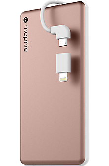 powerstation plus mini 4000 with Switch-Tip Cable - Rose Gold