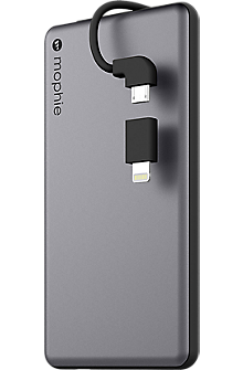 powerstation plus mini 4000 with Switch-Tip Cable - Space Gray/Black