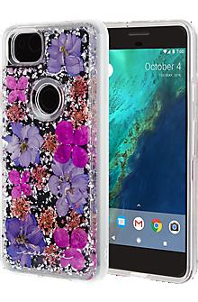 Karat Petals Case for Pixel 2 - Purple