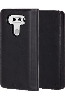 Wallet Folio Case for LG V30 - Black