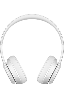 Solo3 Wireless On-Ear Headphones - Gloss White