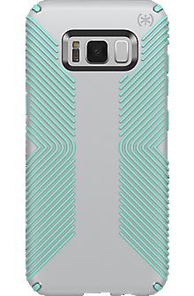 Presidio Grip Case for Galaxy S8 - Dolphin Grey/Aloe Green