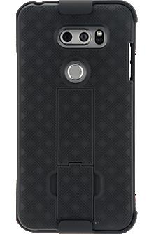 Shell Holster Combo for LG V30 - Black