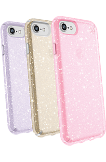 Presidio Clear + Glitter Case Giftset for iPhone 8/7/6s/6 - Multi