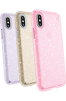 Presidio Clear + Glitter Case Giftset for iPhone X - Multi