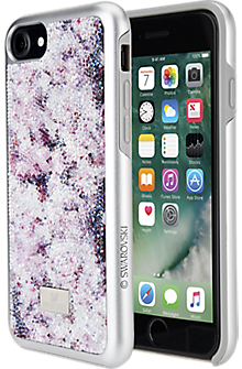 Crystal Flower Case for iPhone 7 - Multi Color