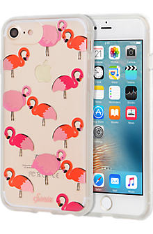 ClearCoat Case for iPhone 7/6s/6- Flamingo
