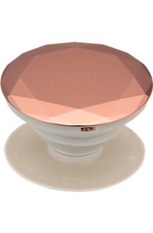 PopSockets - Rose Gold Metallic Diamond
