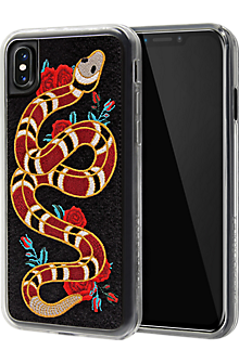 Strike Embroidered Case for iPhone X