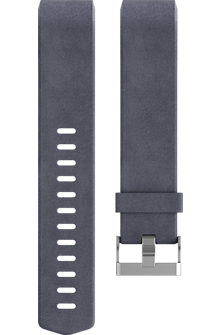 Luxe Leather Accessory Band for Charge 2 - Indigo (Large)