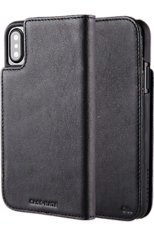 Wallet Folio for iPhone X - Black