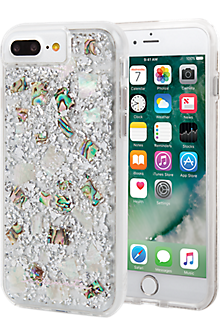 Karat Case for iPhone 8 Plus/7 Plus/6s Plus/6 Plus - Mother of Pearl/Clear