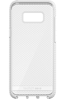 Evo Check Case for Samsung Galaxy S8+ - Clear/White