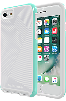 Evo Elite Active Edition Case for iPhone 7 - Reflective Turquoise/Grey