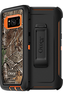 Defender Series Case for Galaxy S8 - Real Tree Xtra