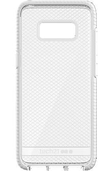 Evo Check Case for Samsung Galaxy S8 - Clear/White