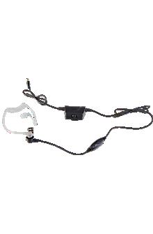 Smart 2-in-1 Acoustic Tube Surveillance Headset -Kodiak iOS