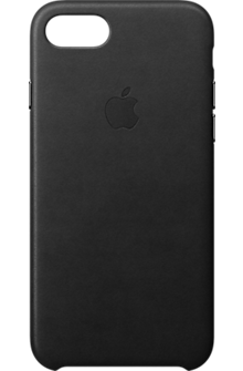 iPhone 8/7 Leather Case - Black