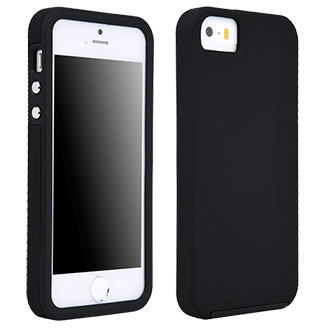 iPhone Se Case-Mate Tough Case - Black