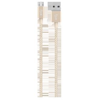 Belkin Mixit 4' Premium Metallic Micro Usb Cable - Gold