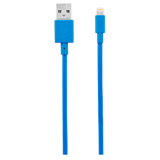 T-Mobile 4 Ft. Lightning Cable - Blue