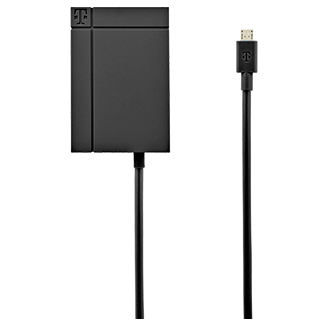 T-Mobile 3.4a Lightning Tip Vehicle Power Charger - Black