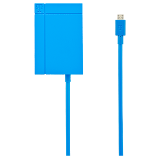 T-Mobile 3.4a Lightning Tip Vehicle Power Charger - Blue