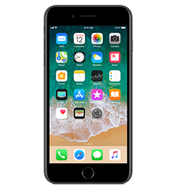iPhone 7 Plus - Black - 128gb
