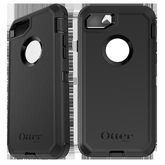 Apple iPhone 7/8 Otterbox Defender Series Case - Black
