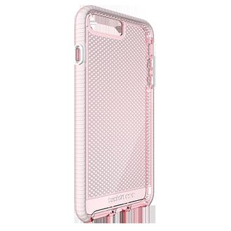 Apple iPhone 7/8 Plus Tech21 Evo Check Case - Light Rose & White