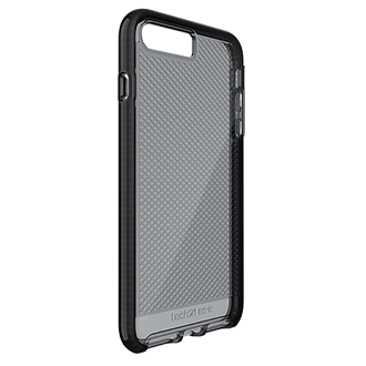 Apple iPhone 7/8 Plus Tech21 Evo Check Case - Smoke & Black