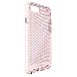 Apple iPhone 7/8 Tech21 Evo Check Case - Light Rose & White