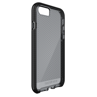 Apple iPhone 7/8 Tech21 Evo Check Case - Smoke & Black