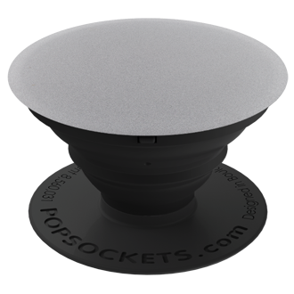 Popsockets Expanding Phone Stand And Grip - Metallic Space Grey