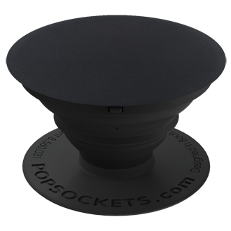 Popsockets Expanding Phone Stand And Grip - Black Aluminum