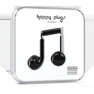 Happy Plugs Earbud Plus - Black
