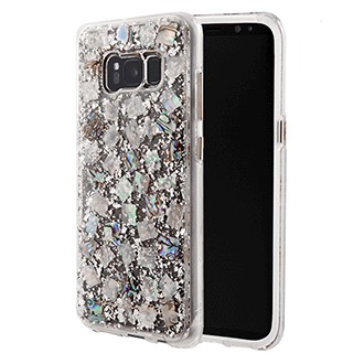 Samsung Galaxy S8 Case-Mate Karat Case - Mother Of Pearl