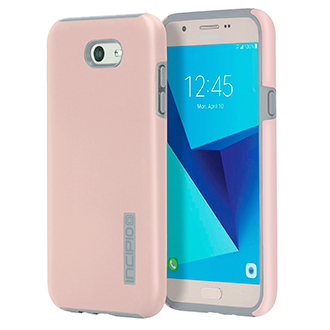 Samsung Galaxy J7 Prime Incipio Dualpro Case - Rose Gold & Gray