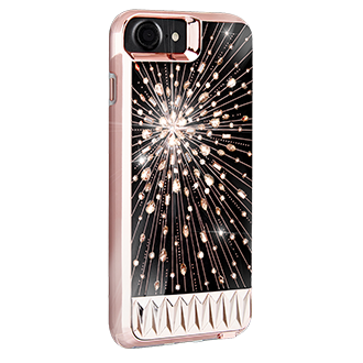 Apple iPhone 7/8 Case-Mate Luminescent Case - Clear/rose Gold