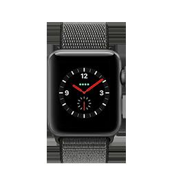 Watch Series 3 42mm - Space Gray - Dark Olive Loop