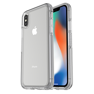Apple iPhone X Otterbox Symmetry Series Case - Clear