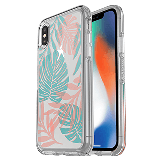 Apple iPhone X Otterbox Symmetry Series Case - Easy Breezy
