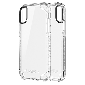 Apple iPhone X Griffin Survivor Strong Case - Clear