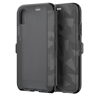 Apple iPhone X Tech21 Evo Wallet - Black