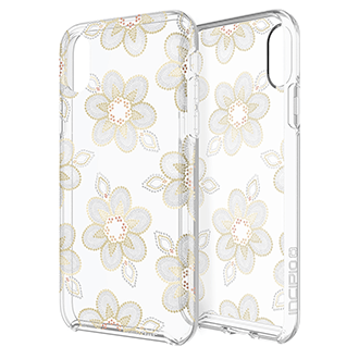 Apple iPhone X Incipio Design Series Classic Dot Floral Case